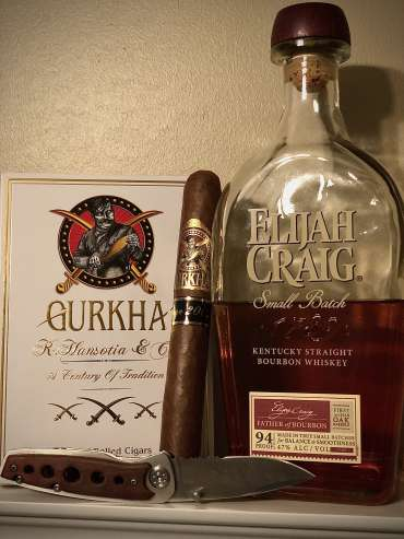 Cigar and Bourbon used in the Smoke and Bourbon Weekly Pairing